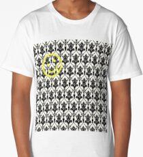 BBC Sherlock 'Bored Smiley Face'  Long T-Shirt
