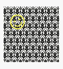 BBC Sherlock 'Bored Smiley Face'  Photographic Print