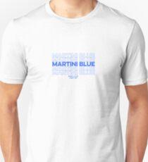 Martini blue dpr Unisex T-Shirt