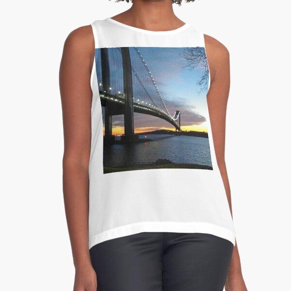 Night Bridge Sleeveless Top
