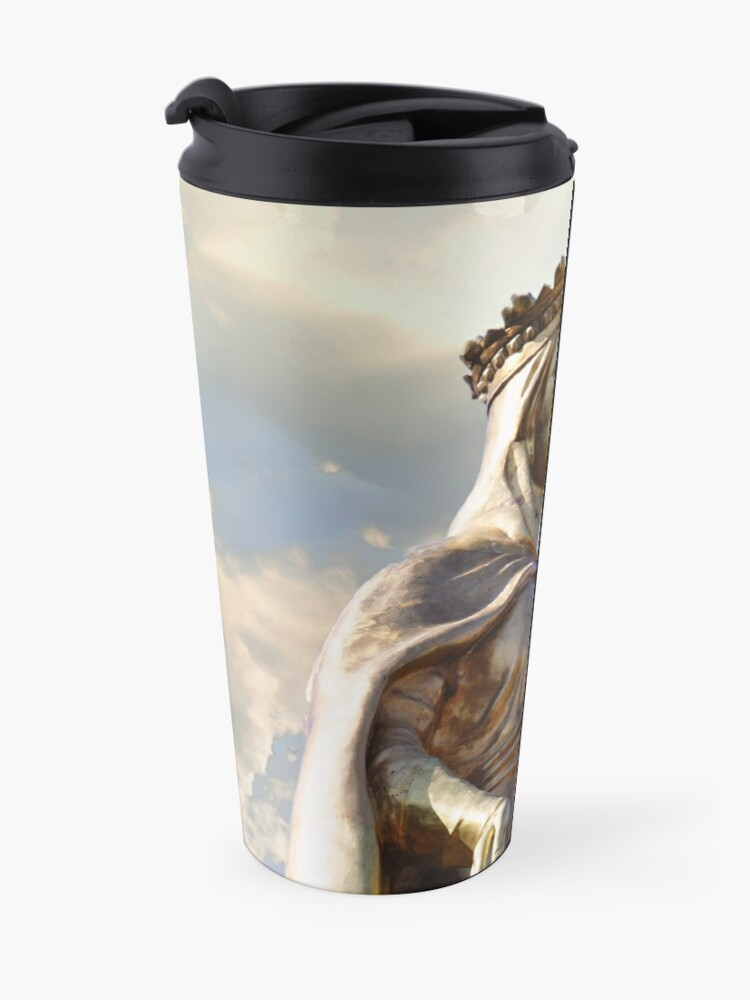 Alternate view of Mary Of Miracles Travel Mug