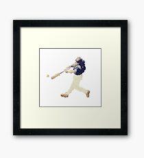 Art Baseball Player Framed Print