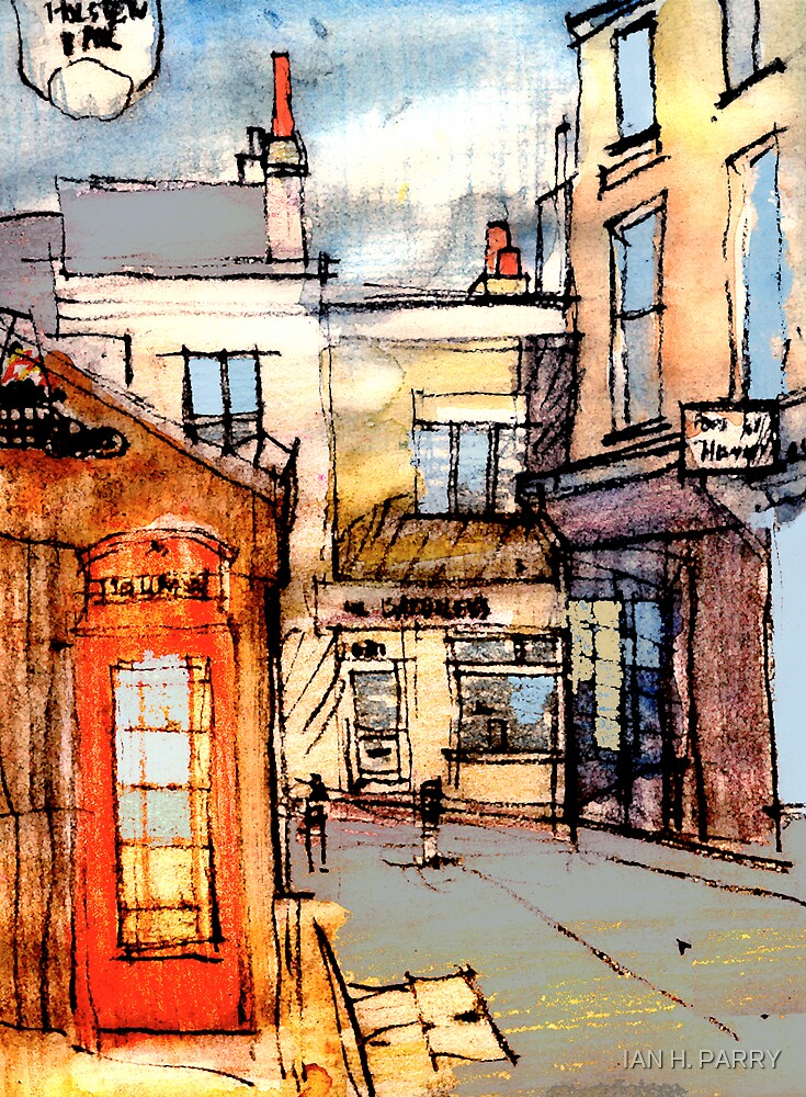 BRIGHTON LANES. by IAN H. PARRY