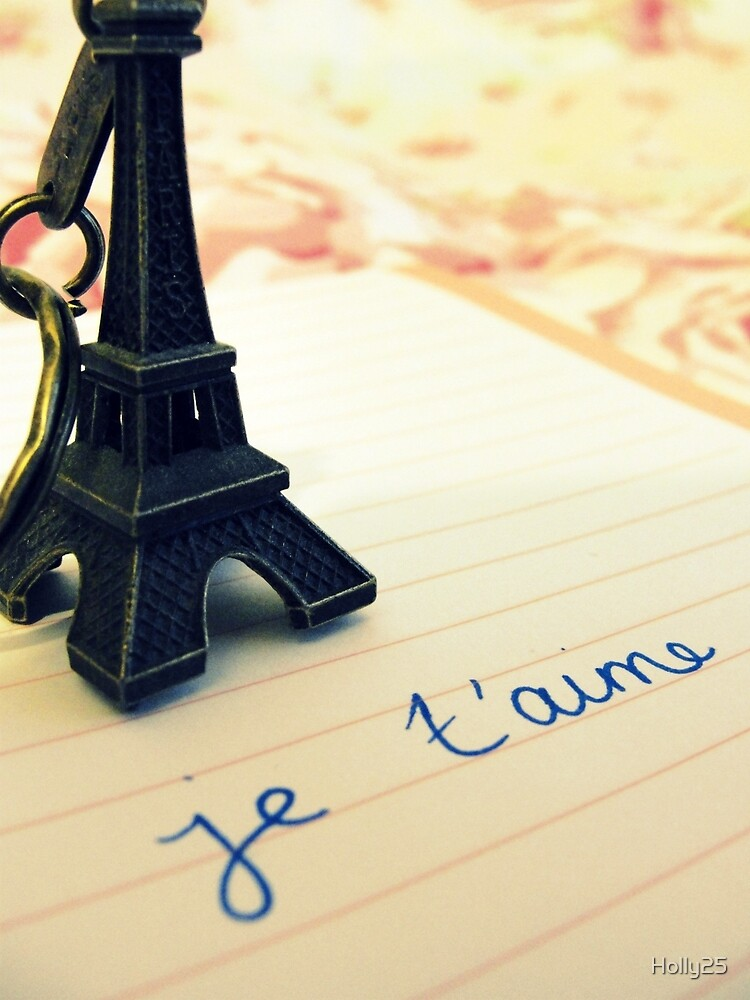Je t'aime by Holly25