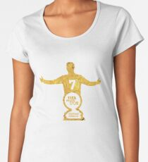 CR7 ballon d'or Women's Premium T-Shirt