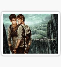 Newt X Thomas - Maze Runner Sticker