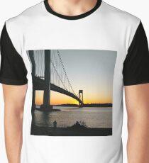 Verrazano-Narrows Bridge Graphic T-Shirt
