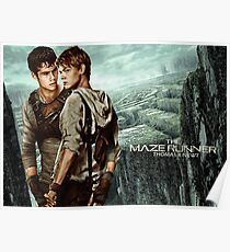 Newt X Thomas - Maze Runner Poster