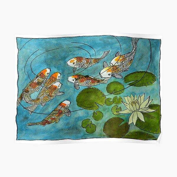 View Koi Fish Watercolor Art Images