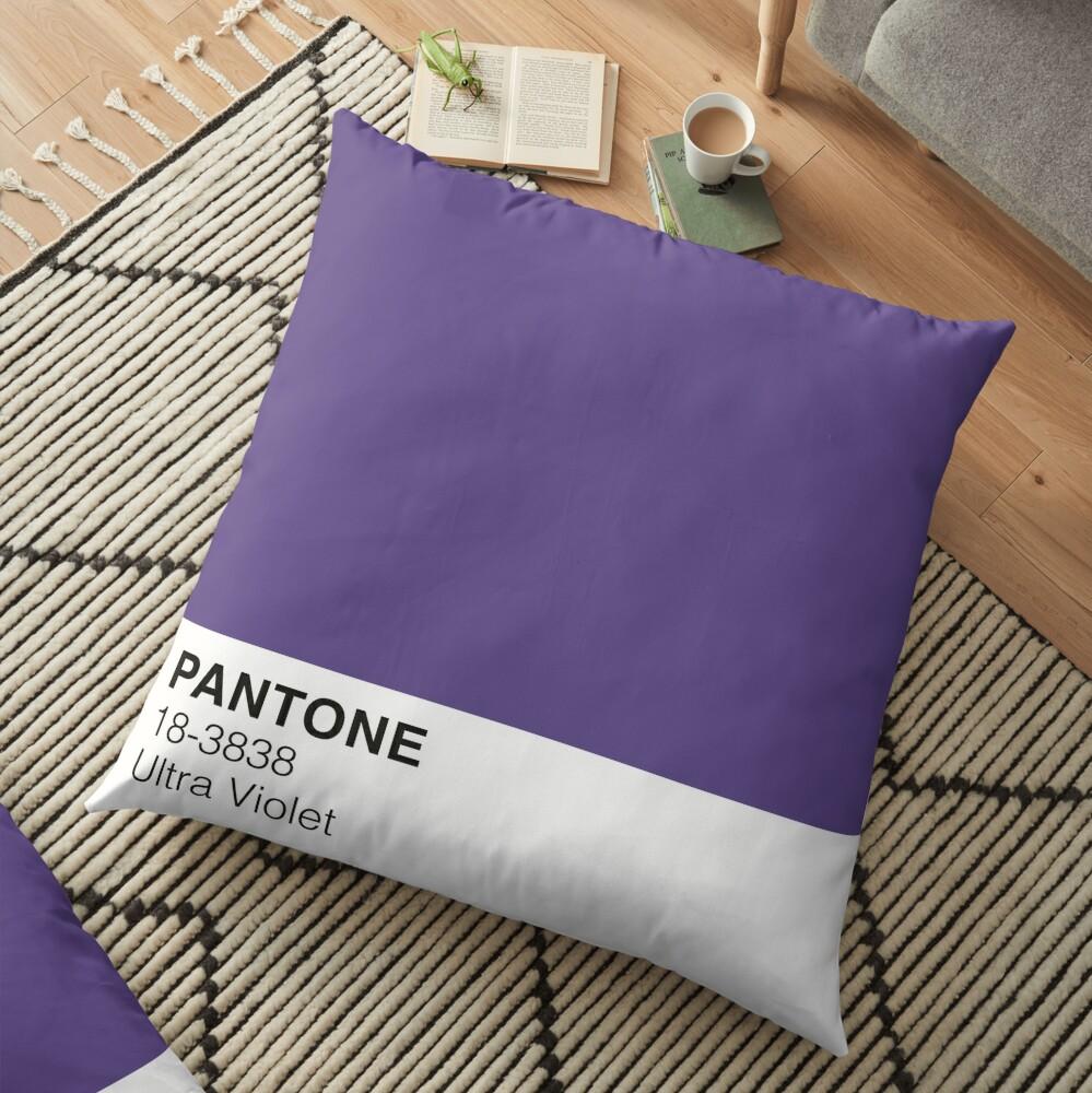 Ultra Violet Pantone Cojines de suelo
