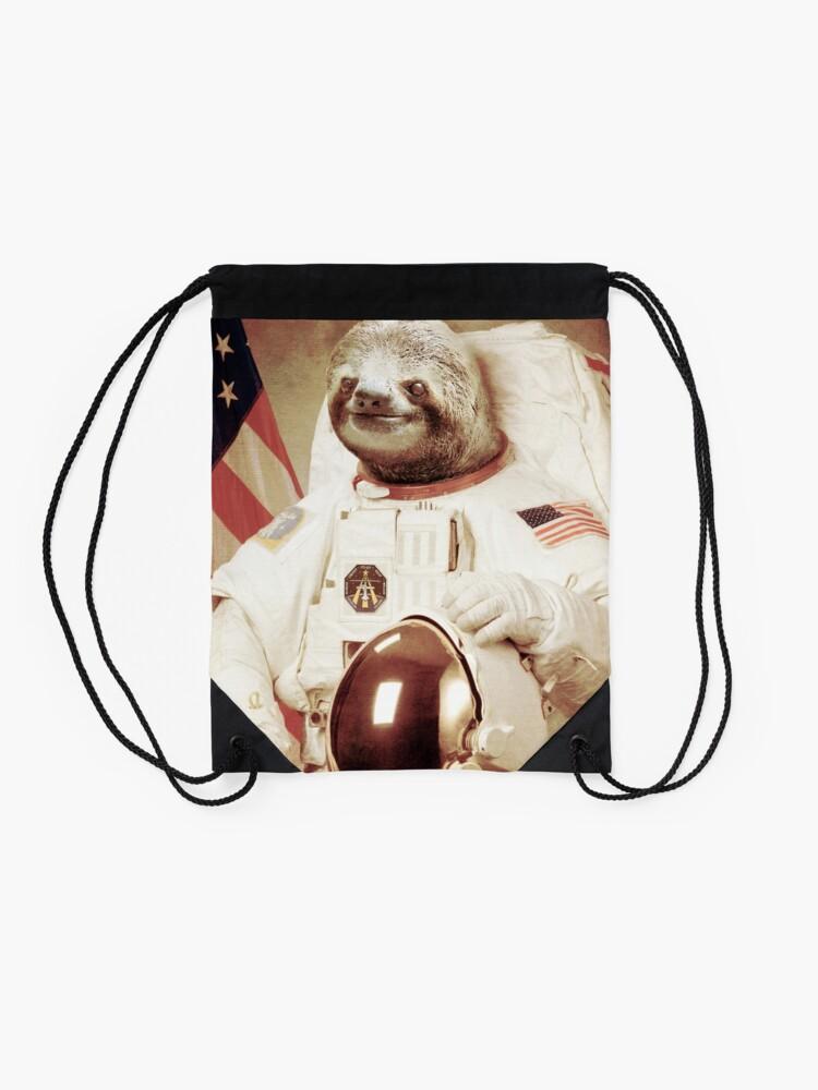 Vista alternativa de Mochila de cuerdas Astronauta Sloth