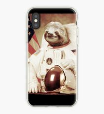 Vinilo o funda para iPhone Astronauta Sloth