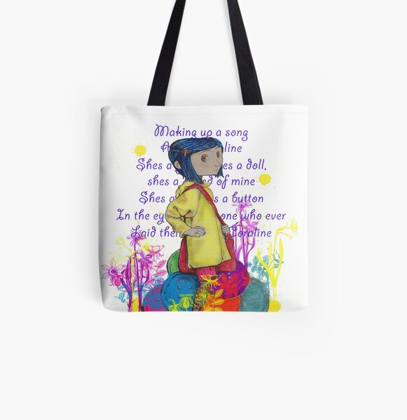 Song About Coraline All Over Print Tote Bag