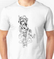 Gorillaz - 2D and Noodle T-Shirt