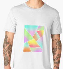 Geometric Multicolor Pattern Full Men's Premium T-Shirt