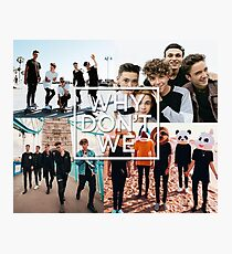 wdw poster Photographic Print