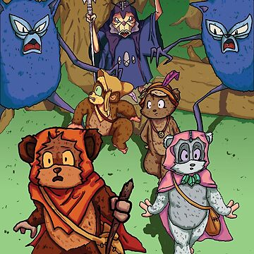 Ewoks by demonology7789