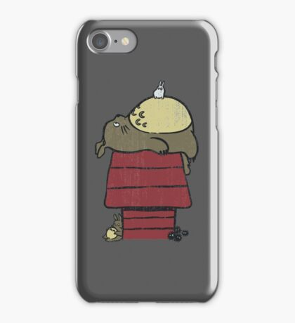 My neighbor Peanut iPhone Case/Skin