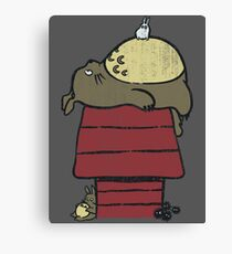 My neighbor Peanut Canvas Print
