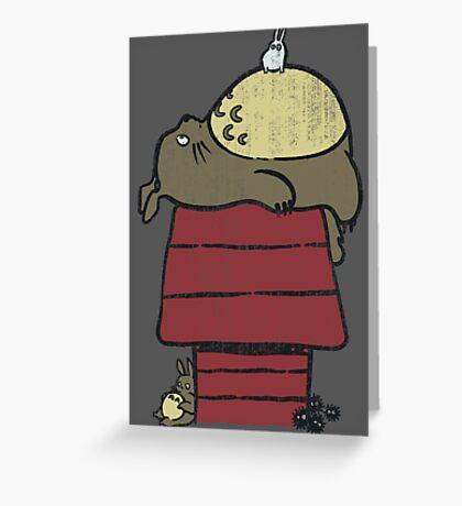 My neighbor Peanut Greeting Card