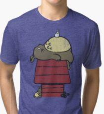 My neighbor Peanut Tri-blend T-Shirt