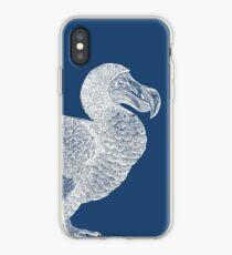 Vinilo o funda para iPhone Dodo (azul)