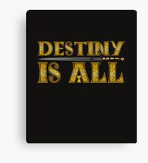 Vikings Destiny Is All Valhalla for Ever Fighting Sword Canvas Print