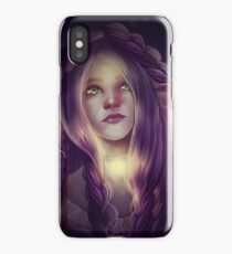 Magic elf sketch iPhone Case/Skin