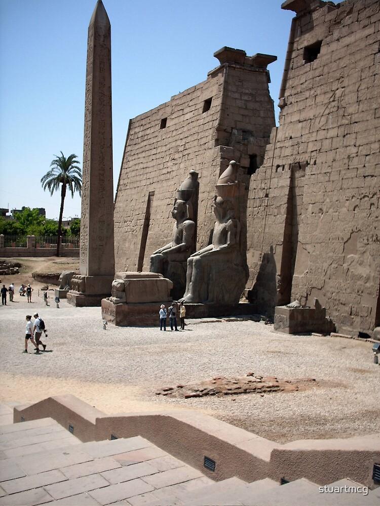Karnak Temple entrance by stuartmcg