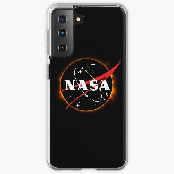 Éclipse solaire de la NASA Coque souple Samsung Galaxy