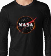 NASA Solar Eclipse Long Sleeve T-Shirt