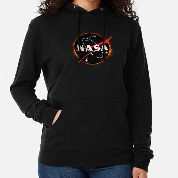 Eclipse solar de la NASA Sudadera ligera con capucha