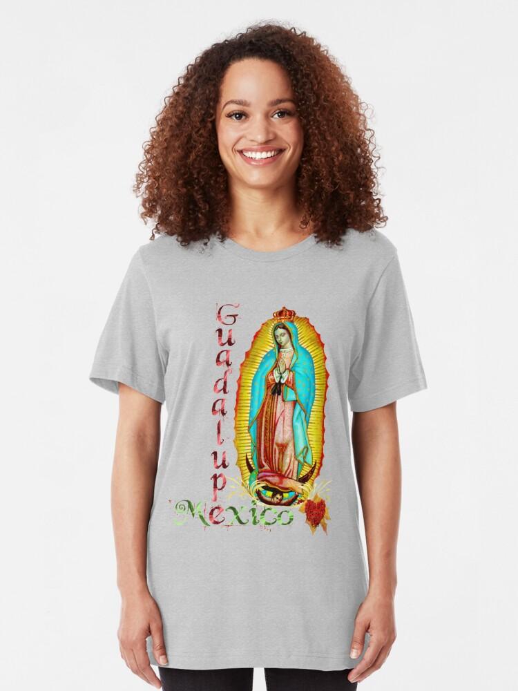 Nuestra Senora De Guadalupe Our Lady Virgin Mexico Catholic Saint Girls Tank Top
