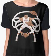 Mr. Triple Double Westbrook  Chiffon Top