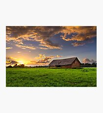 Shed meadow Photographic Print