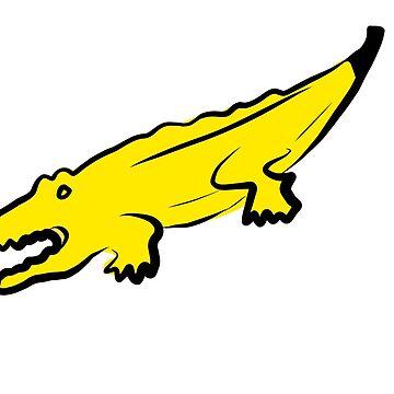Banalligator by theforaner
