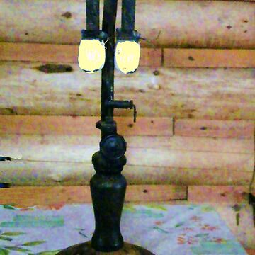 Antique Gas Lamp by MaeBelle