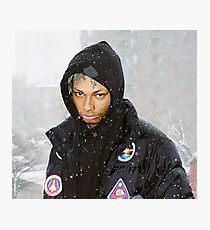 Night Lovell Winter Photographic Print