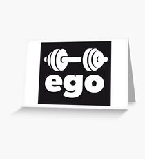 HALTERE EGO Greeting Card
