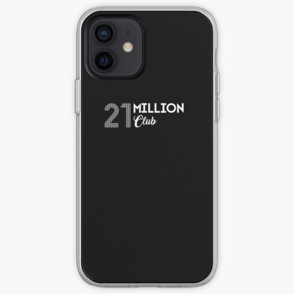 21 Million Club Bitcoin Art iPhone Soft Case