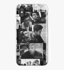 Black and White Why Don't We Collage iPhone Case/Skin
