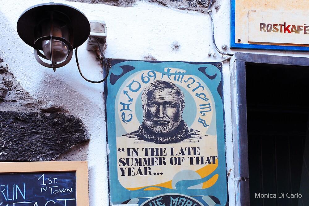 Coffee sign by Monica Di Carlo