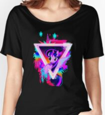 Neon Twilight Sparkle Women's Relaxed Fit T-Shirt