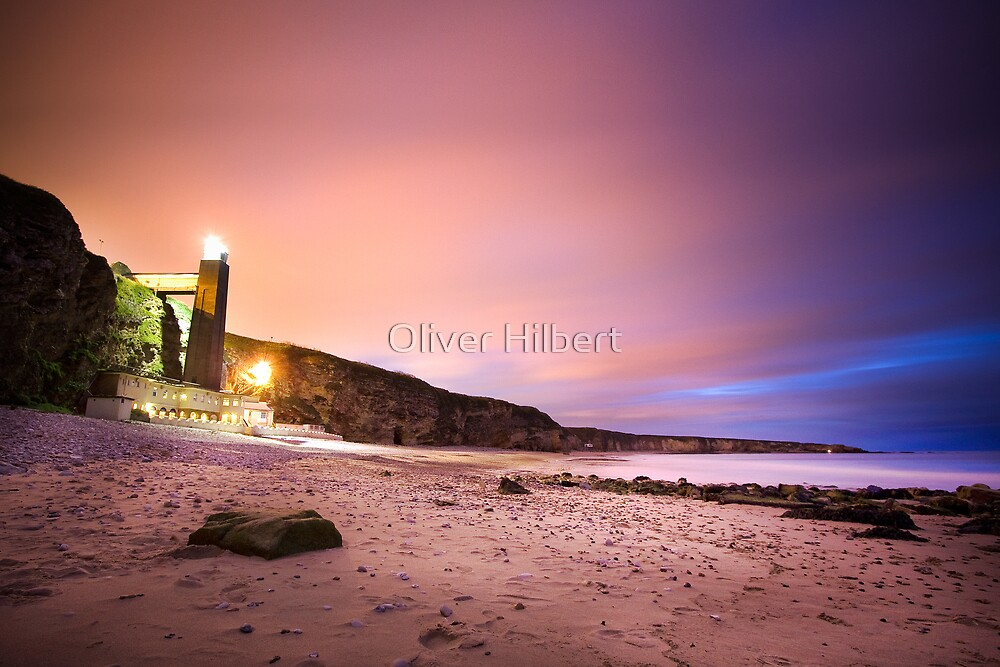 Marsden Bay Beach by Oliver Hilbert