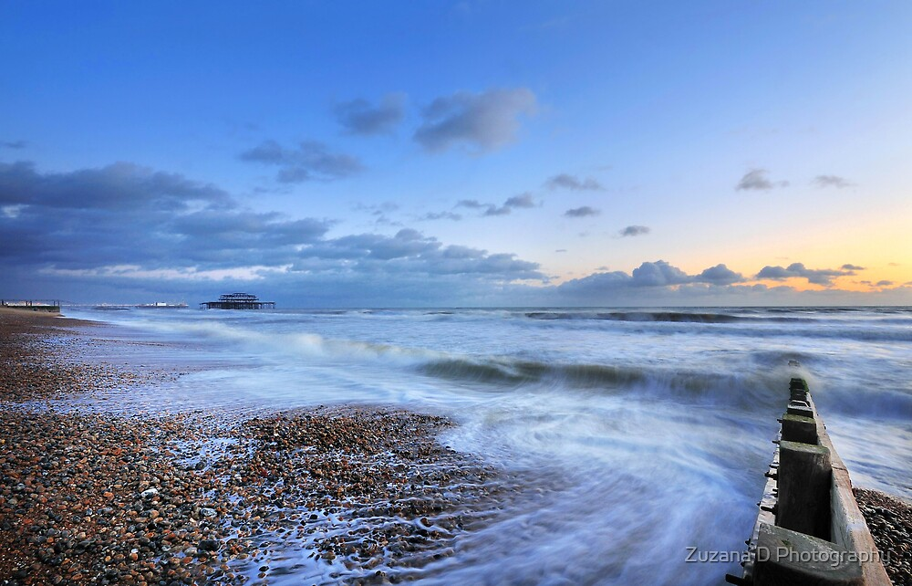 Sonata of Sea by Zuzana D Photography
