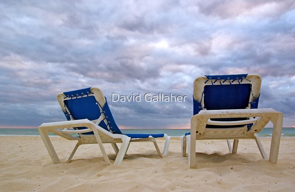 Beach Chairs by David Gallaher