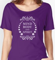 Mind, body and spirit Women's Relaxed Fit T-Shirt