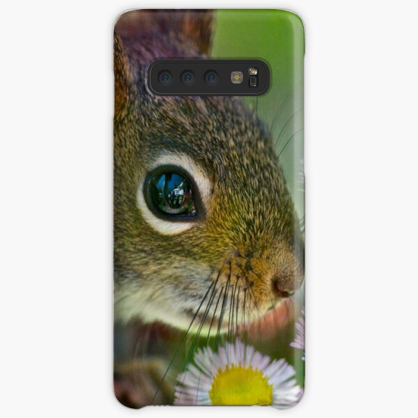 Flowers and Squirrel Samsung Galaxy Snap Case
