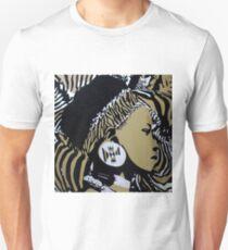 Zulu girl zebra print T-Shirt