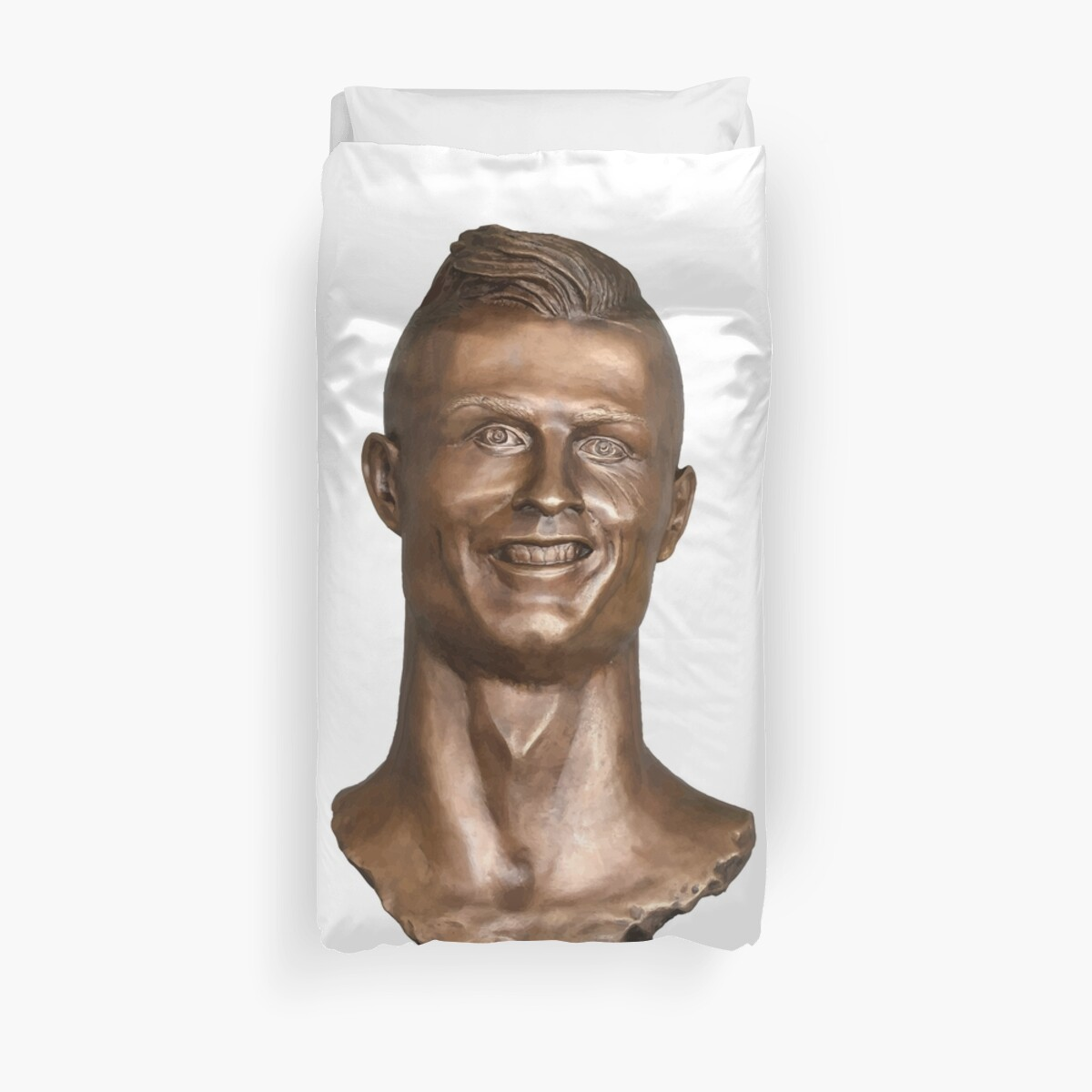 Quot Cr7 Cristiano Ronaldo Ugly Statue Quot Duvet Covers By Piscao